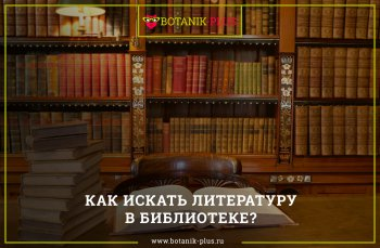 Блог Заказ курсовых контрольных дипломных работ Ботаник  Как искать литературу в библиотеке